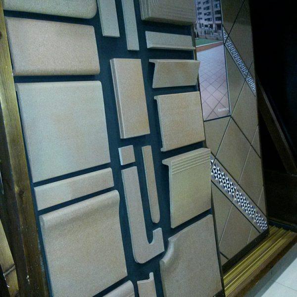 exposición de azulejos